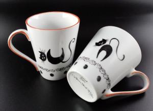 Mug Chats stylisés